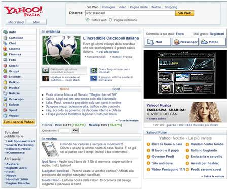 Yahoo ricerche