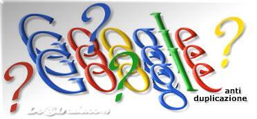 Filtro Anti Duplicazione e Google