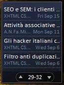 Feed Reader Vista Desktop