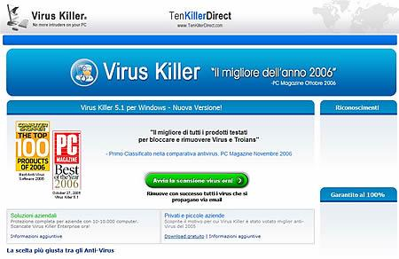 Falso avvocato diffida l'invio di posta spam; è un virus