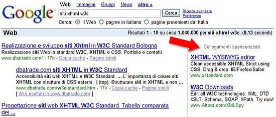 Google Web Site Promotion