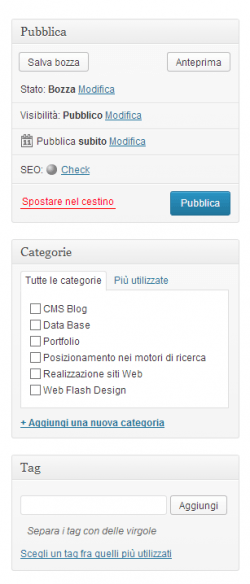 wordpress-amministrazione