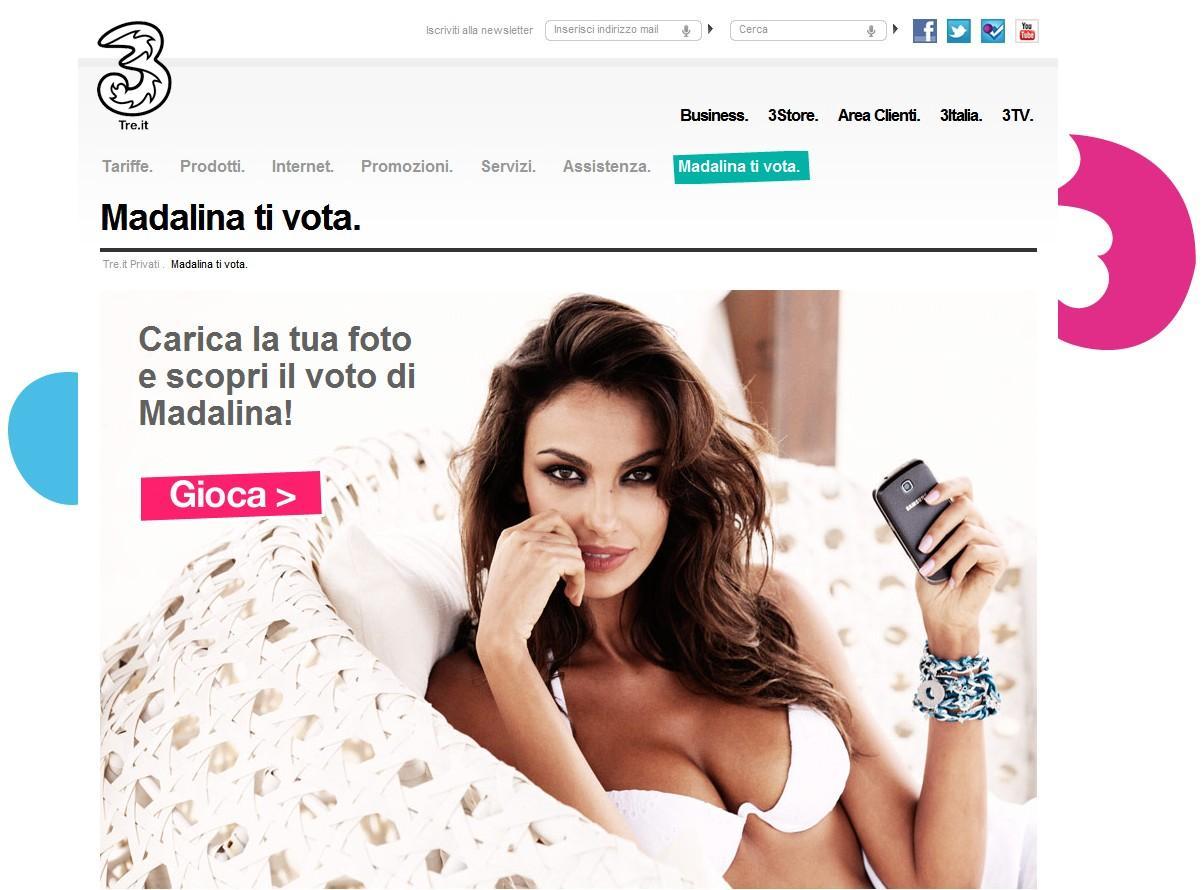H3G 3 Italia Madalina