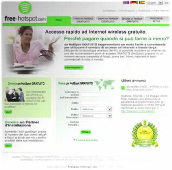 Connessioni internet Wi-Fi a costo zero!
