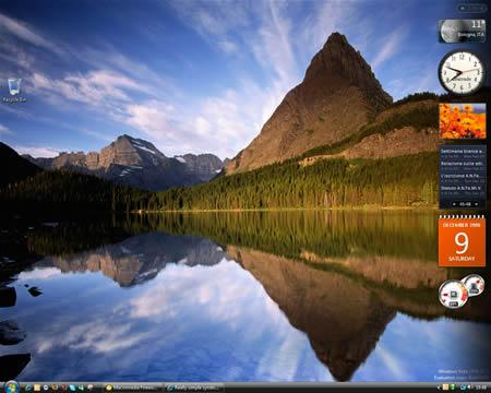 Vista desktop e Feed RSS