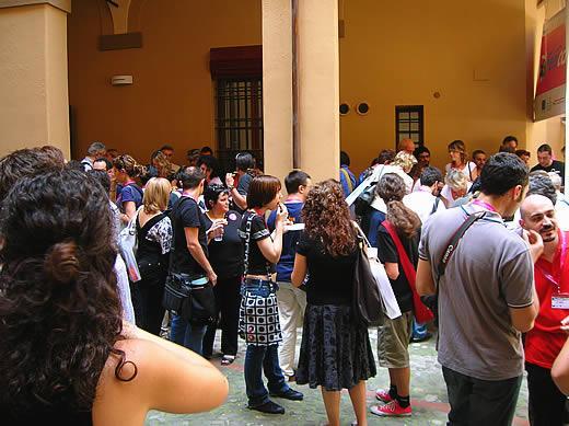 La pausa pranzo al FemCamp di Bologna